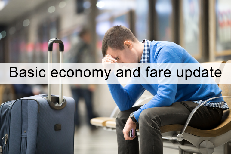 Basic economy and fare update