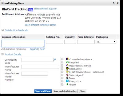 bluCard Tracking